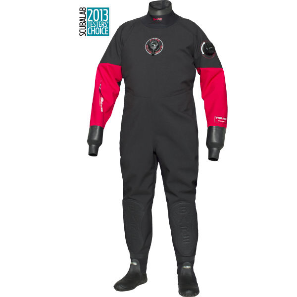 bare sport drysuit trilam pro red