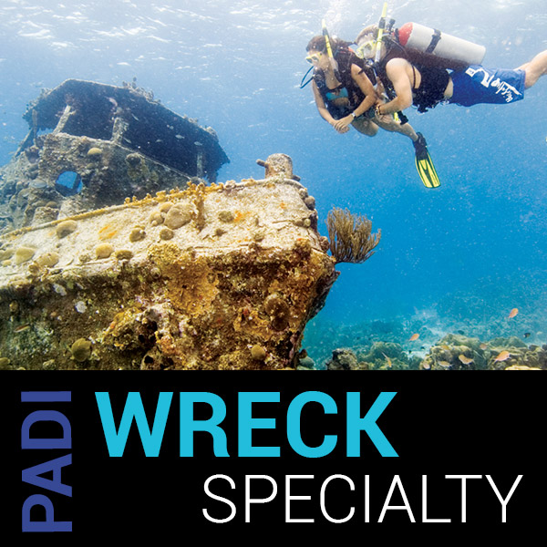PADI WRECK SPECIALTY COURSE VANCOUVER