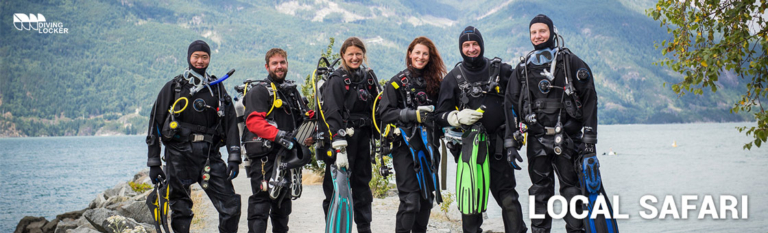 The Vancouver Area Diving Guide