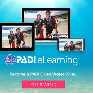 Padi E-Learning - Open Water Course