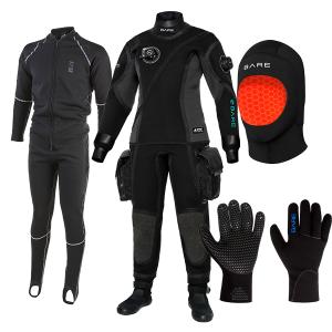 Bare Guardian Tech Drysuit Package