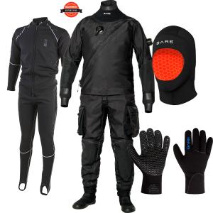 Bare X-Mission Drysuit Package