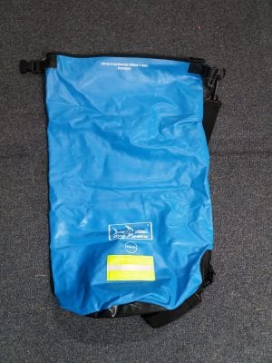 Used Dry Wave 15L Dry Bag Blue