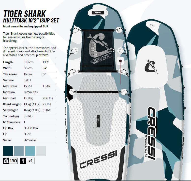Cressi Tiger Shark Sup
